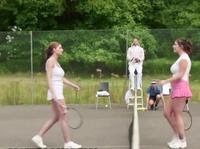 Сладкая оргия на теннисном корте