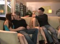 Секс двух классных пар