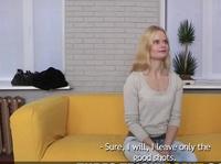 Первый порно кастинг русской блонды
